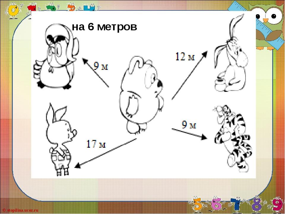 на 6 метров © stopilina.ucoz.ru
