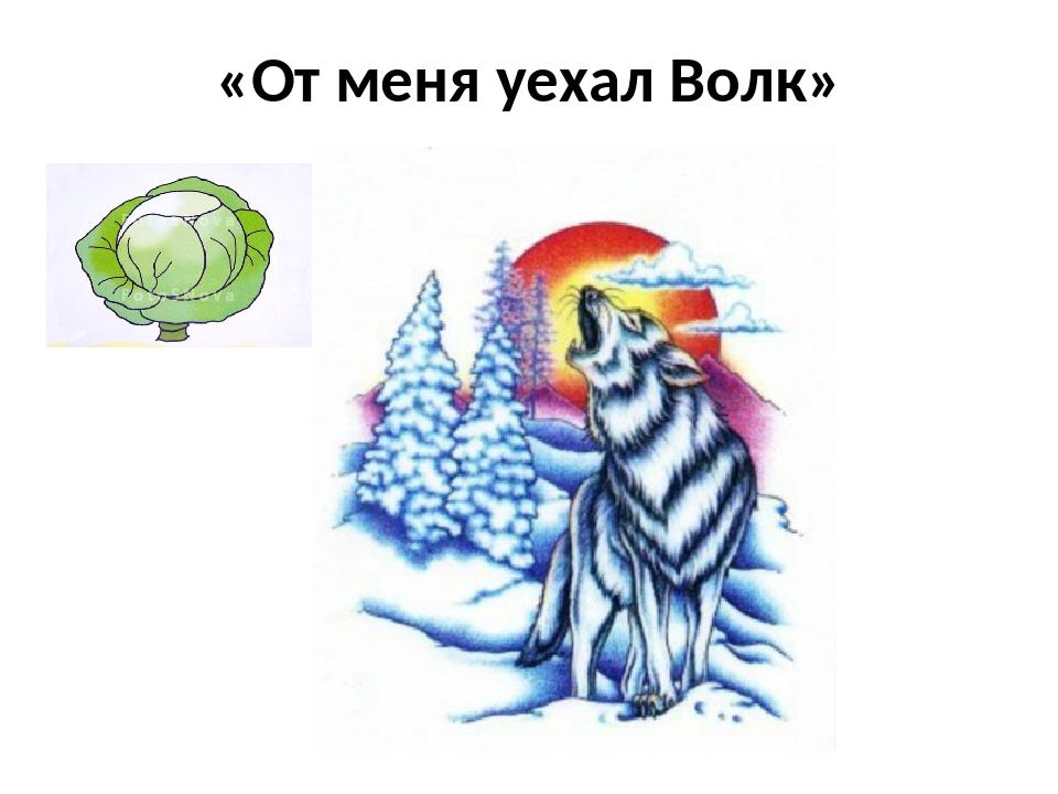 «От меня уехал Волк»