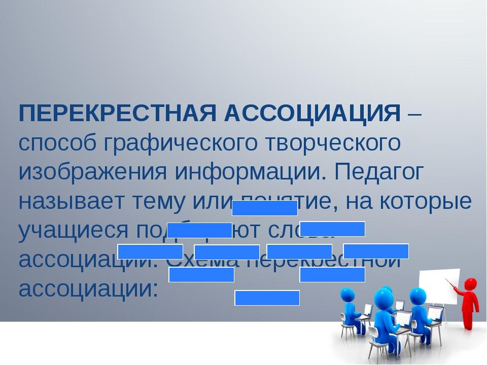 ПЕРЕКРЕСТНАЯ АССОЦИАЦИЯ – способ графического творческого изображения информа...